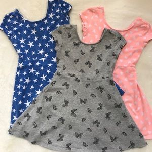 Other - 3 Girls Summer Dresses!! All are XS 4/5!